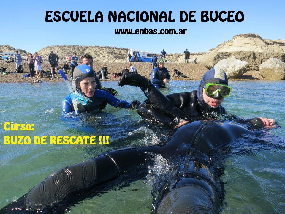 Curso Rescue Divers del ENBAS III PUBLICIDAD