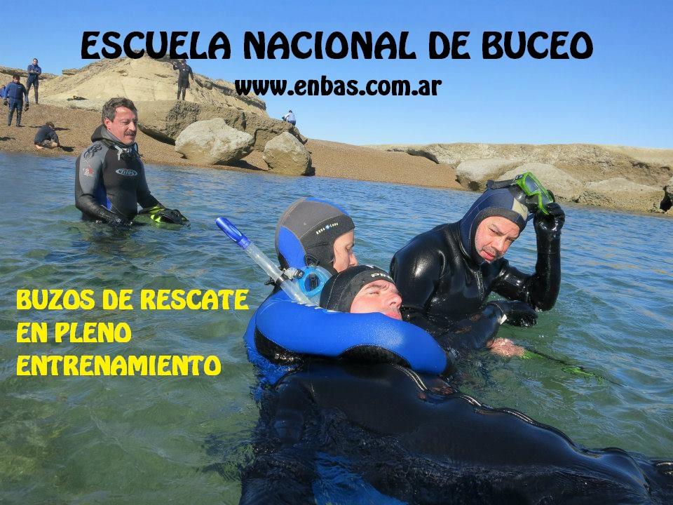 Curso Rescue Divers del ENBAS PUBLICIDAD